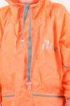 Плащ-дождевик (оранжевый)