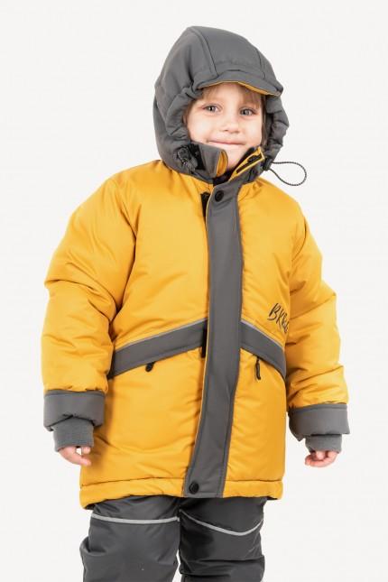 Куртка зимняя (горчица)